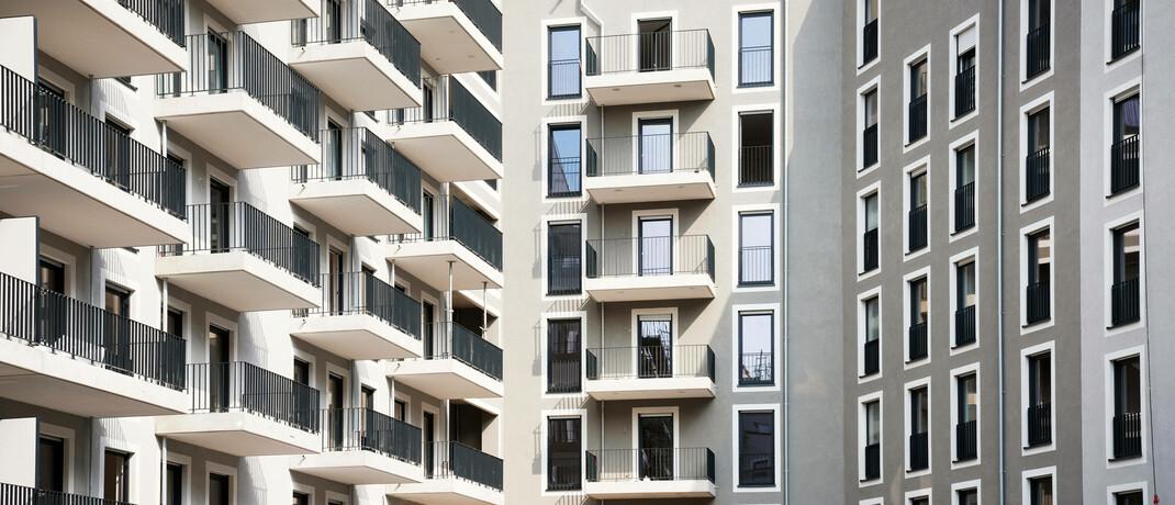 Neubau in Dortmund: In den vergangenen Jahren wuchs der Markt für Mikroapartments. |© imago images / Friedrich Stark