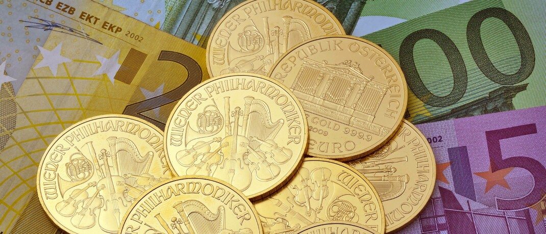 Neun Feinunzen Gold im Wert von aktuell 15.200 Euro: Die steigende Investorennachfrage hat weniger mit der Corona-Krise an sich als mit deren Folgen zu tun.|© imago images / blickwinkel