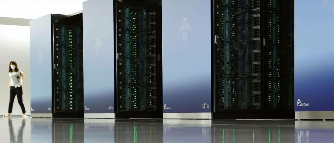 Japans neuer Supercomputer Fugaku in Kōbe ist hundertmal schneller als sein Vorgänger: Alle Anlageprodukte haben eine Gemeinsamkeit: Daten|© imago images / Kyodo Ne