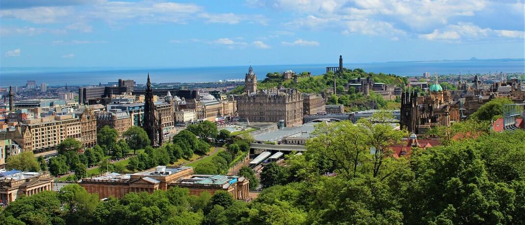 Schottlands Hauptstadt Edinburgh: Die Fondsgesellschaft Kames Capital hat hier ihren Sitz.