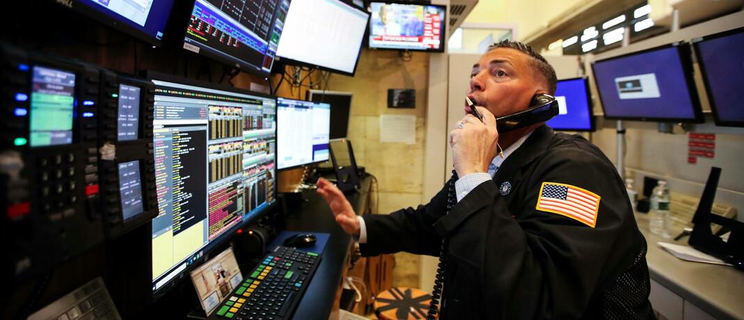 Börsenhändler in New York: Eine neue Normalität – wie immer die auch im Detail aussehen wird – rückt zumindest näher und der Corona-Crash mit seinen desaströsen Zahlen jeden Monat weiter in die Vergangenheit.