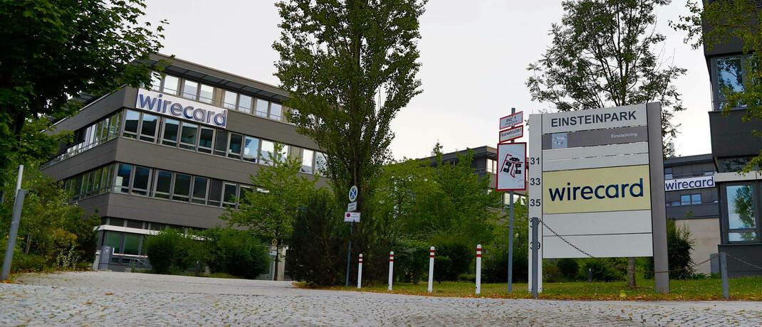 Wirecard-Gelände in Aschheim: Der Insolvenzverwalter sucht Käufer für die Unternehmensteile.