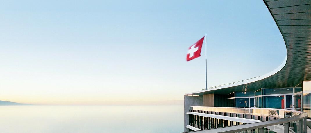 Hauptgebäude des globalen Dividenden-Spitzenreiters Nestlé in der Schweiz.