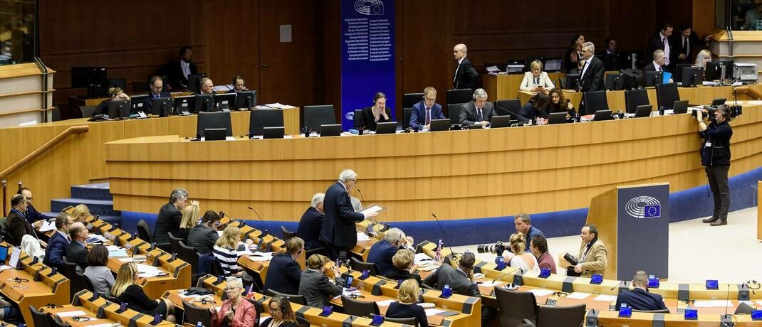Sitzung der Europäischen Kommission in Brüssel