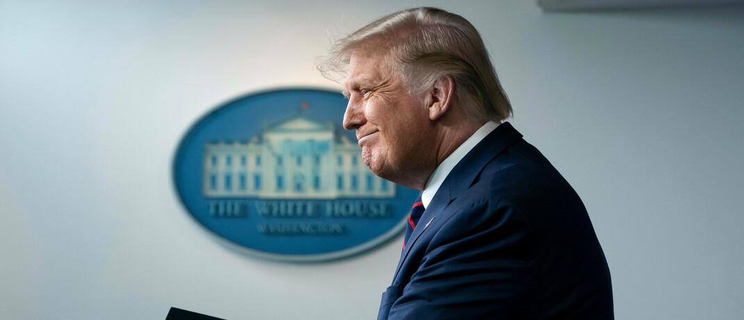 Für US-Präsident Donald Trump ist ein schwacher US-Dollar auch vorteilhaft