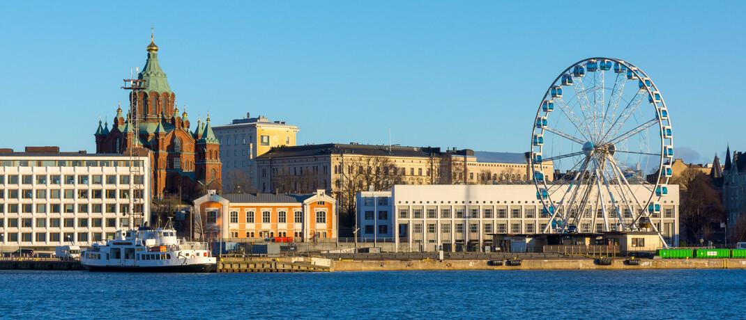 Hafen in Helsinki: Seit 2018 hat die Zentrale der Nordea Bank ihren Sitz in der finnischen Hauptstadt.|© imago images / agefotostock