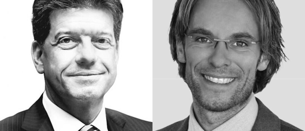 Fondskonzept-Vorstand Alexander Lehmann (li.) gibt einen Teil seiner Aufgaben an Neuzugang Michael Leis ab.|© Fondskonzept