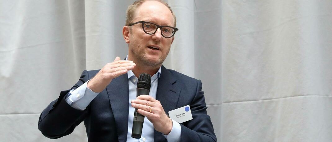 Deutsche-Wohnen-Chef Michael Zahn: Das Immobilienunternehmen löste im Juni die Deutsche Lufthansa im Dax ab. © imago images / Sabine Gudath
