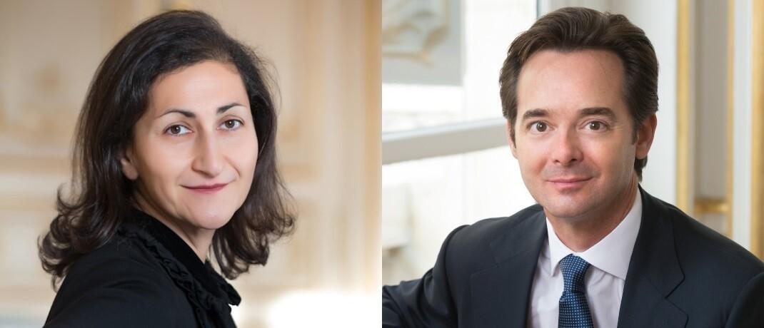 Fondsmanager-Team des Carmignac Patrimoine: Rose Ouahba und David Older|© Carmignac, Studio Cui Cui