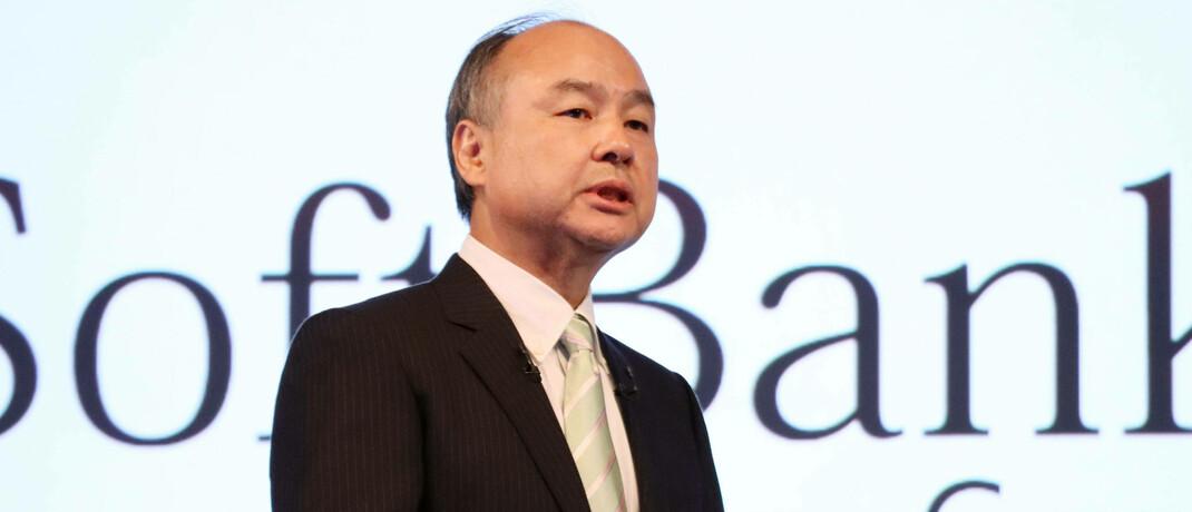 Masayoshi Son, Chef der Softbank