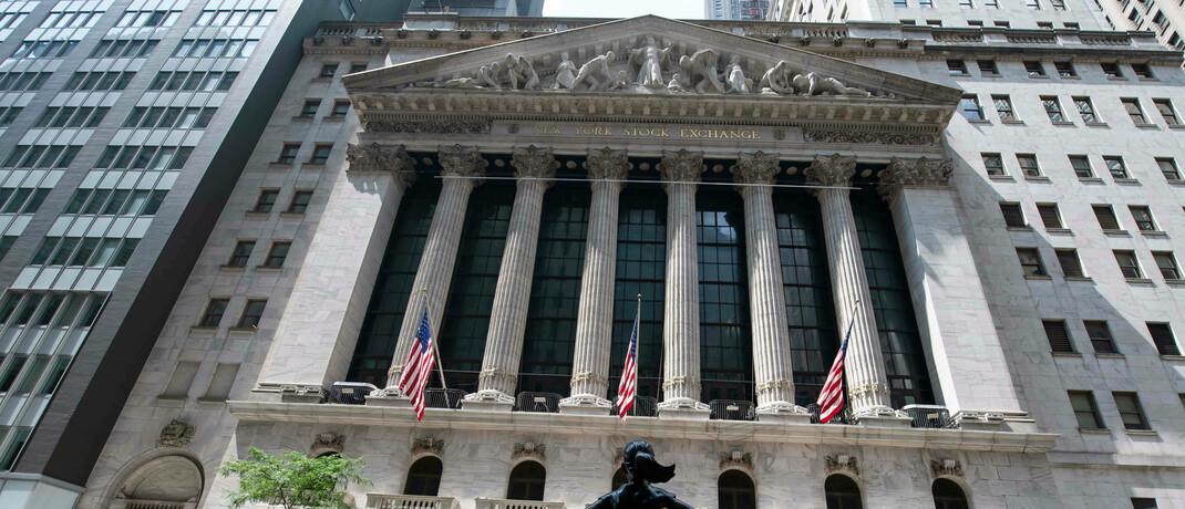 Börse in New York: Die neuen ETFs bestehen aus Aktien und Anleihen.