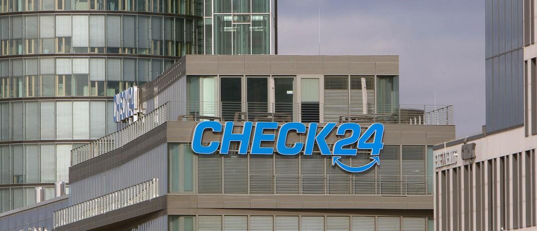 Firmensitz von Check 24 in München: Das Unternehmen ist immer wieder in Rechtsstreitigkeiten verwickelt.|© Imago / Ralph Peters