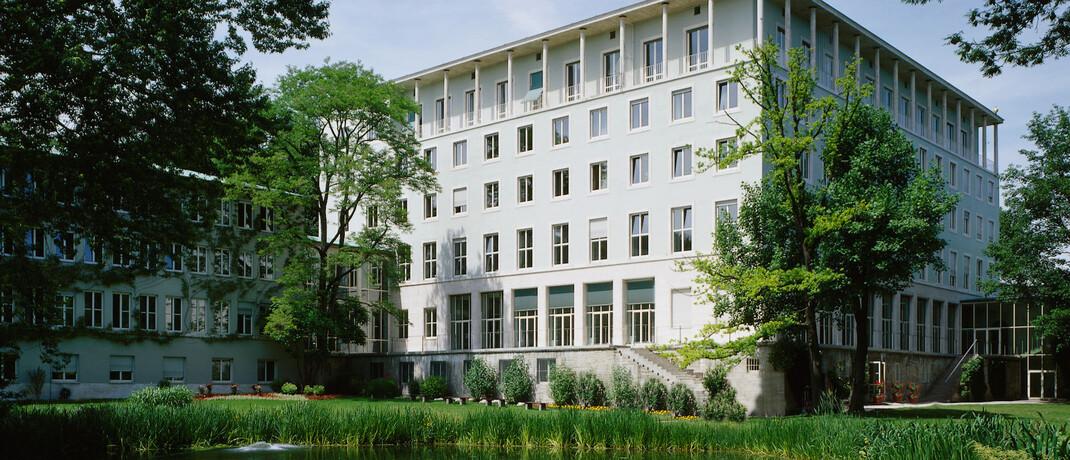 Allianz-Hauptgebäude in München: Allianz Leben ist laut einer Studie der Hochschule Ludwigshafen der leistungsstärkste Lebensversicherer.|© www.allianz.com