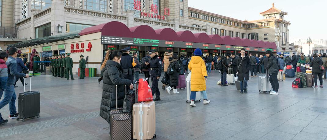 Straßenszene in Peking: Der Fonds von Neuberger Berman besteht aus 30 bis 50 chinesischen Aktien.|© imago images / Imaginechina-Tuchong