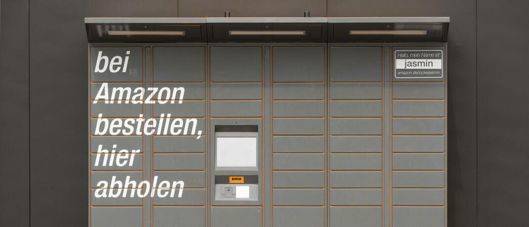 Amazon-Paketstation in Berlin