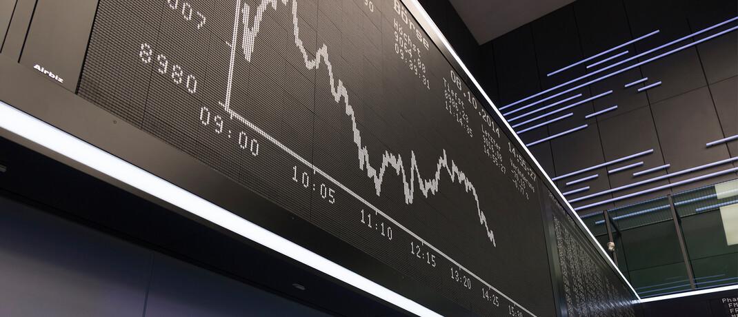 Dax-Tafel in der Frankfurter Börse: Der Leitindex ist nicht mehr Grundlage für den Vanguard-ETF.
