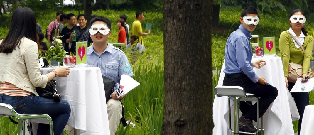 Kennenlern-Messe in Shanghai