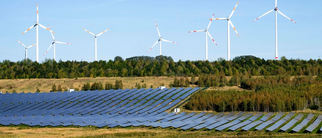 Solar- und Windpark in Sachsen-Anhalt