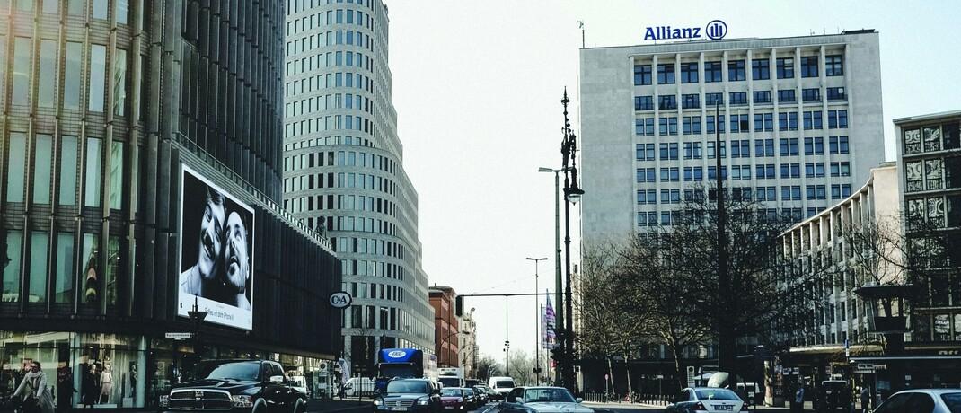 Allianz-Gebäude in Berlin: Der Allianz-Fondstochter AGI drohen in den USA milliardenschwere Schadensersatzklagen.