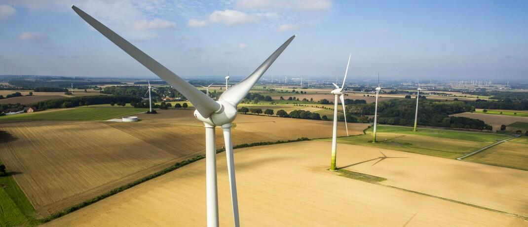 Windanlagen in Deutschland: Nachhaltigkeit ist längst in der Finanzbranche angekommen.