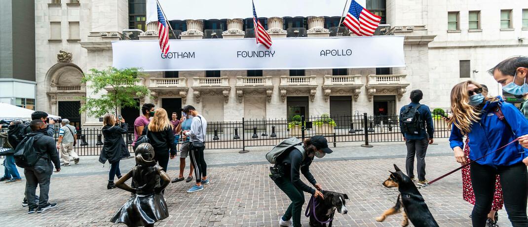 Börse New York: 72 Prozent der Deutschen rechnen damit, dass die Aktienkurse in den kommenden Jahren wieder steigen werden.