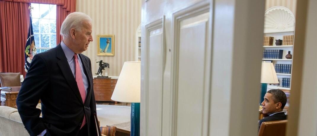 Joe Biden 2012 Oval Office