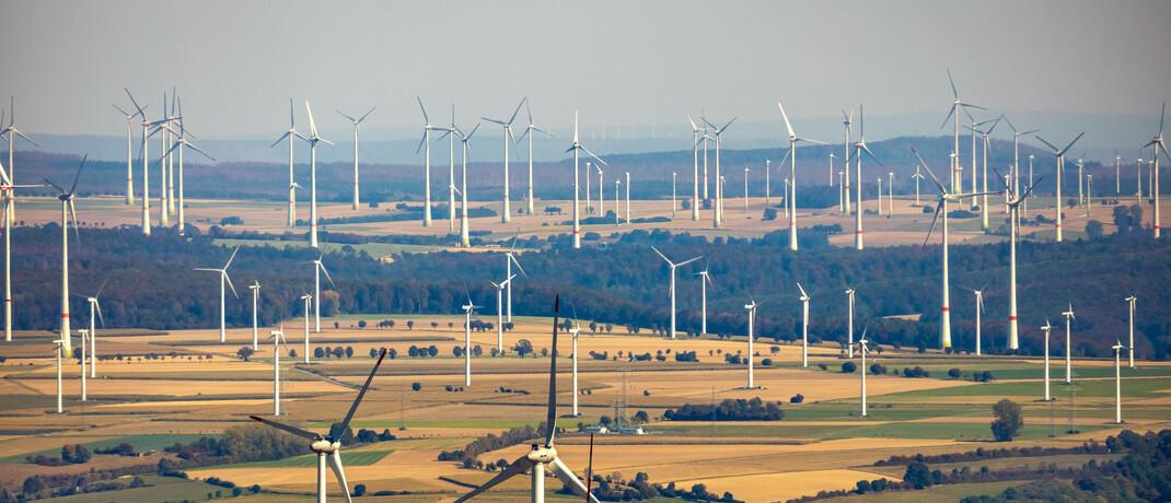 Windpark in Nordrhein-Westfalen