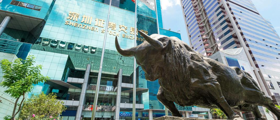 Börse in Shenzhen