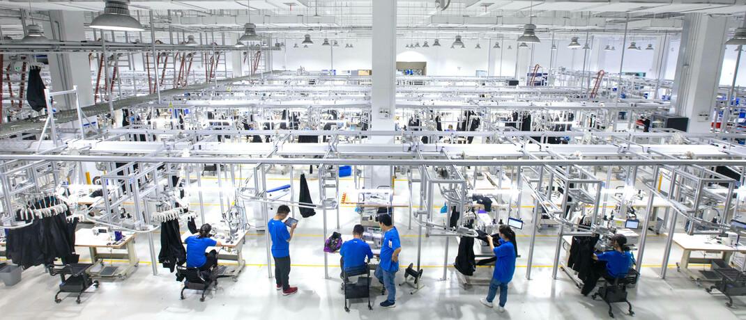 Moderne Fabrik in China