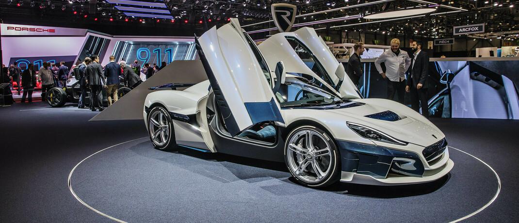 E-Sportwagen von Rimac