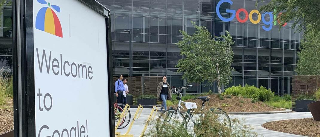 Hauptsitz von Google in Mountain View, Kalifornien