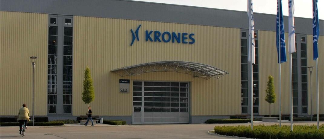 Sitz des Anlagenherstellers Krones im bayerischen Neutraubling