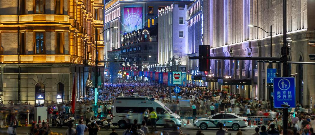 Shanghai im September 2020