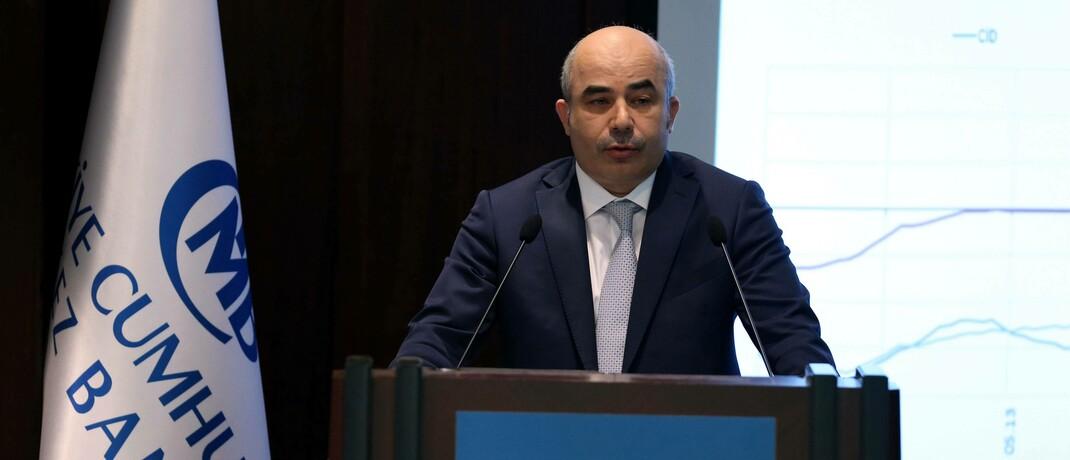 Der Chef der türkischen Zentralbank, Murat Uysal