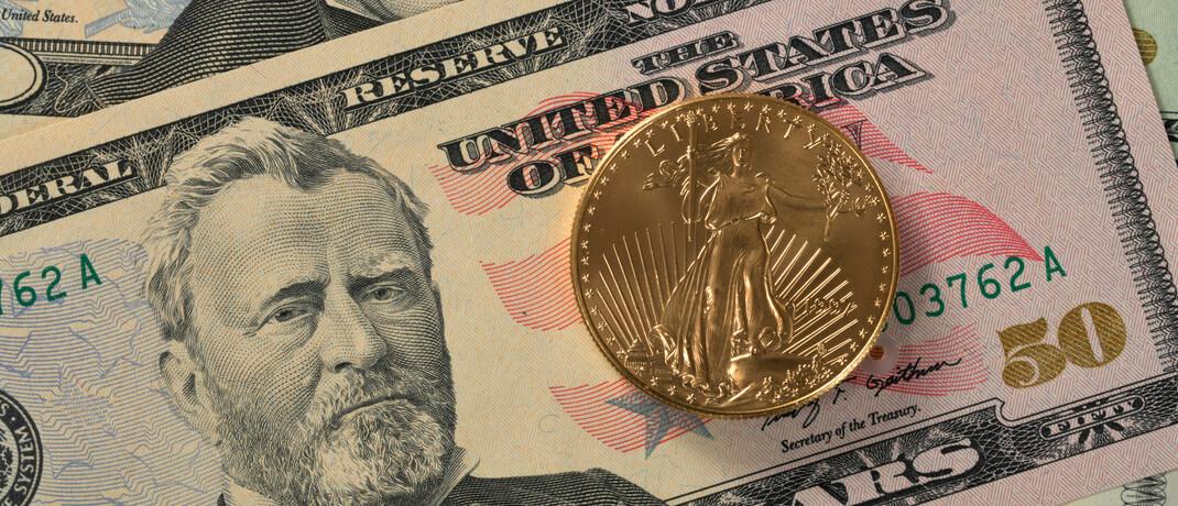 Eine Feinunze Gold im Wert von aktuell 1.700 Euro