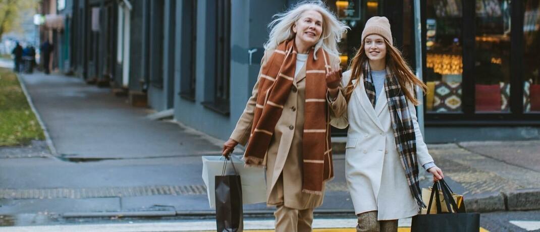 Konsum im Rentner- und Jugendalter