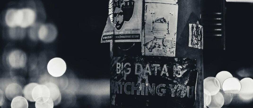 """Big data is watching you"""