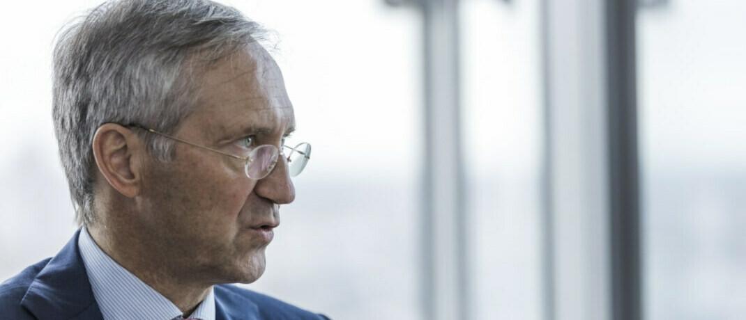 Bert Flossbach, namensgebender Mitgründer von Flossbach von Storch