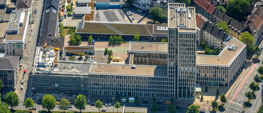 Gebäude der Volkswohl Bund in Dortmund