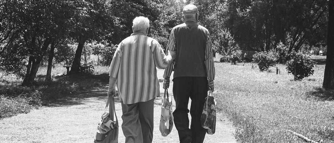 Rentner unterwegs