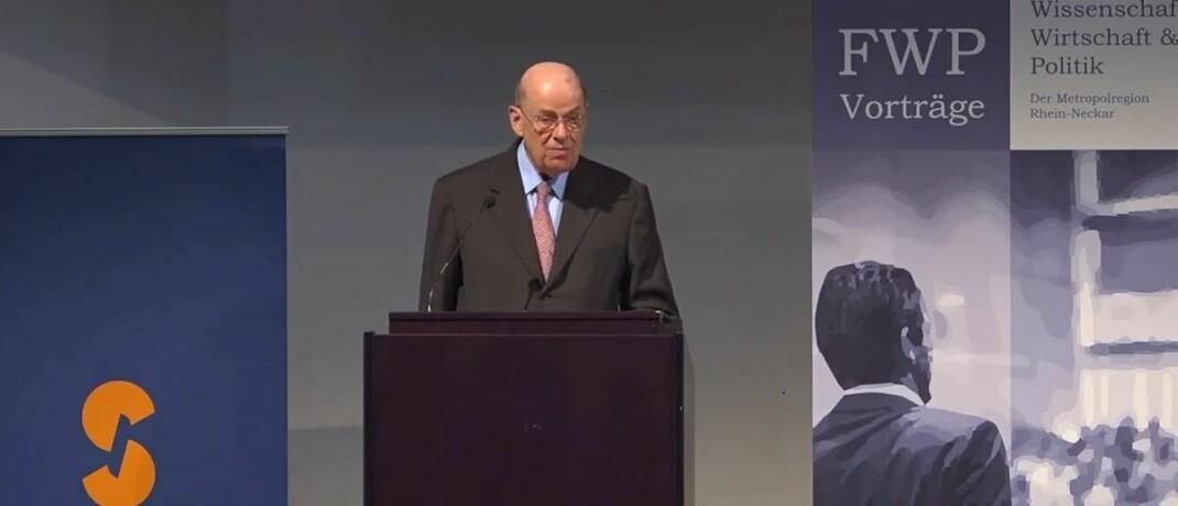 Jürgen Strube war von 1990 bis 2003 Vorstandsvorsitzender und von 2003 bis 2009 Aufsichtsratsvorsitzender des Chemieunternehmens BASF.