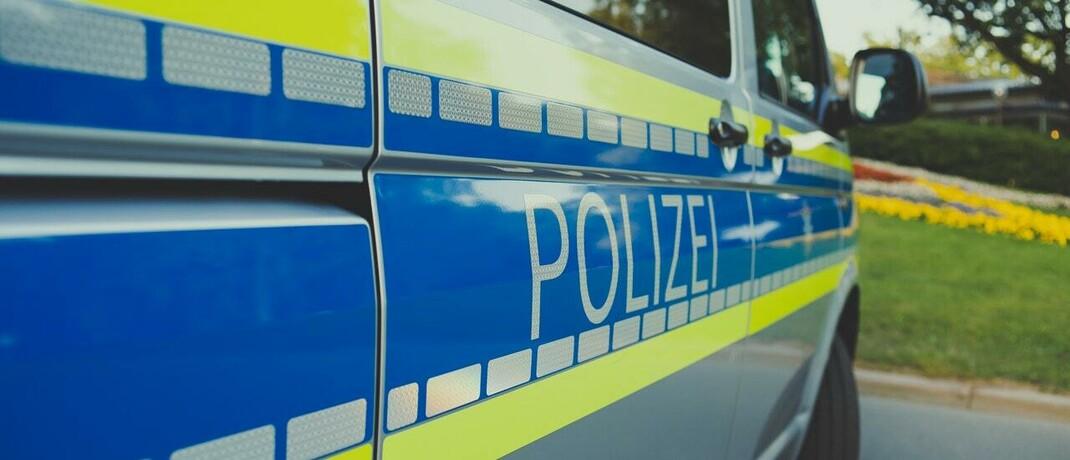 Mannschaftswagen der Polizei