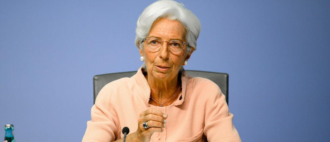 Geldpolitikerin Christine Lagarde