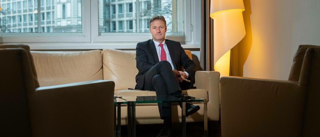 Vorstandschef von Hauck & Aufhäuser Michael Bentlage