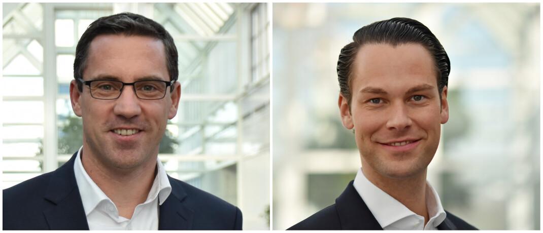 Claus Hunold und Christian D. F. Pape (v.l.)