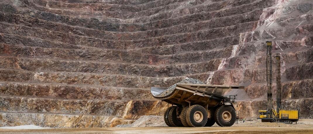Goldmine von Barrick in Südamerika