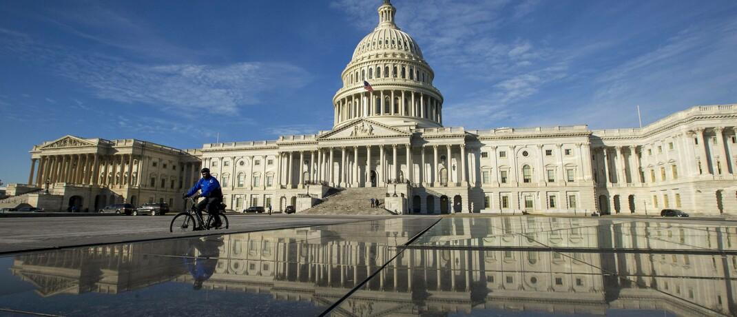 Das Kapitol in Washington, D.C., Sitz des US-Kongresses