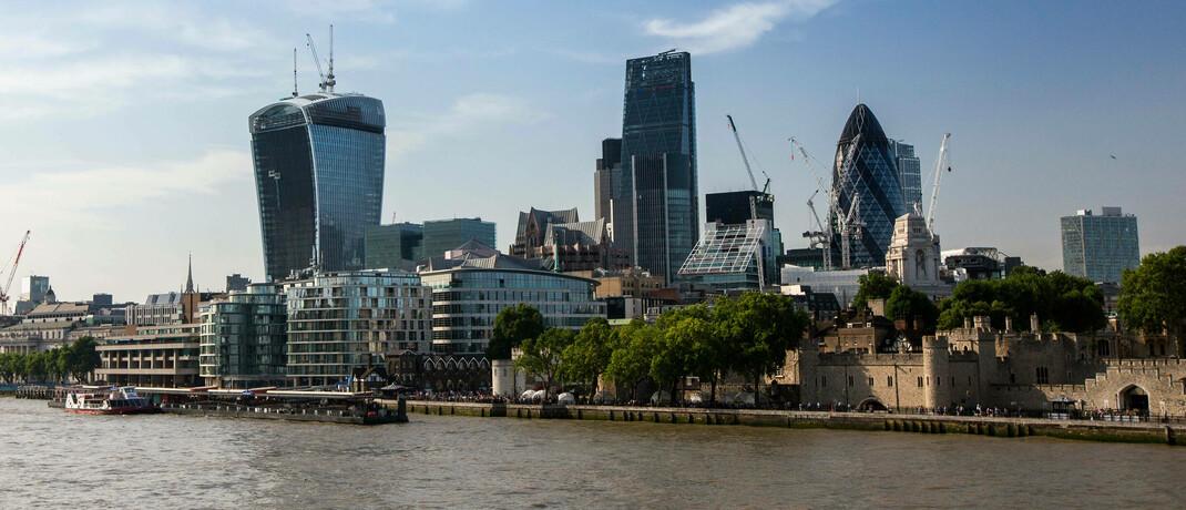 Londoner Finanzdistrikt