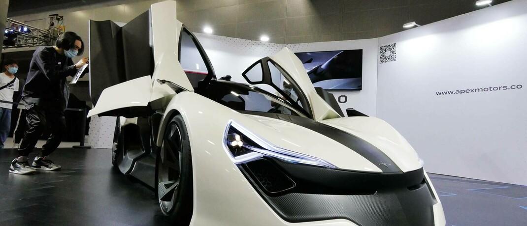 Elektrischer Sportwagen