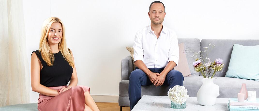 Westwing-Gründer Delia Lachance und Stefan Smalla